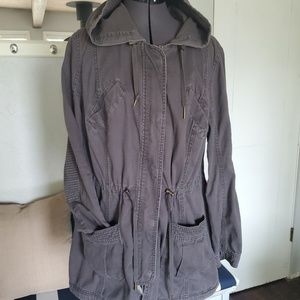 Gray Utility Jacket